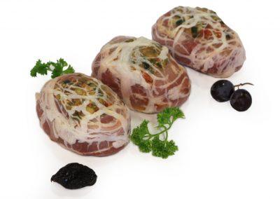 Ballotine de lapin aux petits légumes