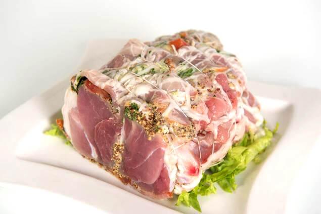Rouelle de porc à la dijonnaise